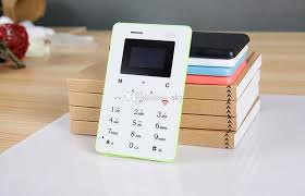White Card Phone