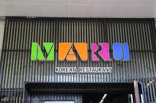 MARU Korean Restaurant in Ermita