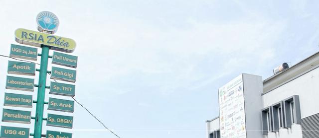 Jadwal Dokter RSIA Dhia Tangerang Selatan Terbaru