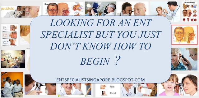ENT Specialist Singapore