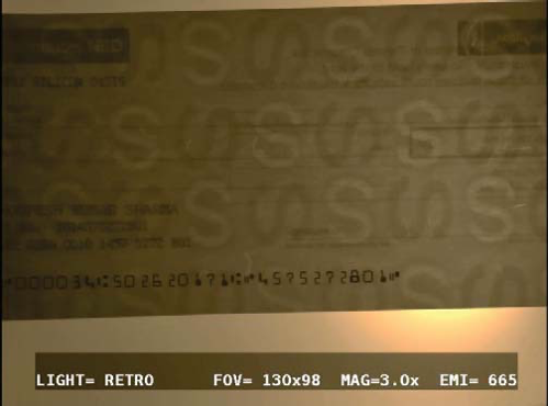 watermarks on bank cheque