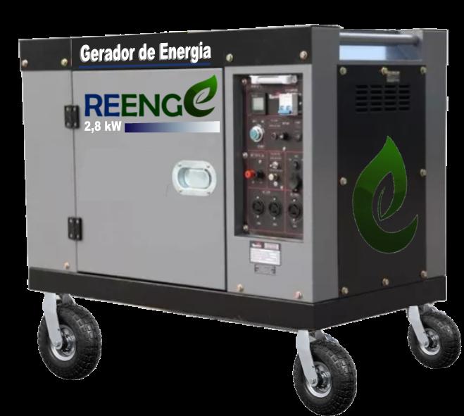 GERADOR DE ENERGIA REENGE - ENERGIA VERDE