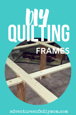homemade quilting frame plans