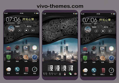 Dark City Amazon Prime Theme For Vivo Android Smartphone