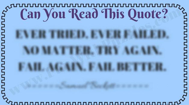 Blur Reading Challenge