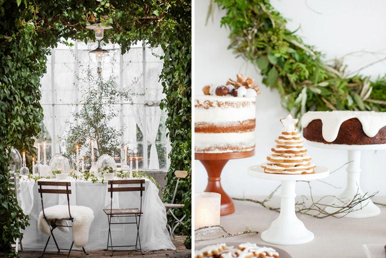 inspiración-mesas-navidad-blanco-verdes-velas
