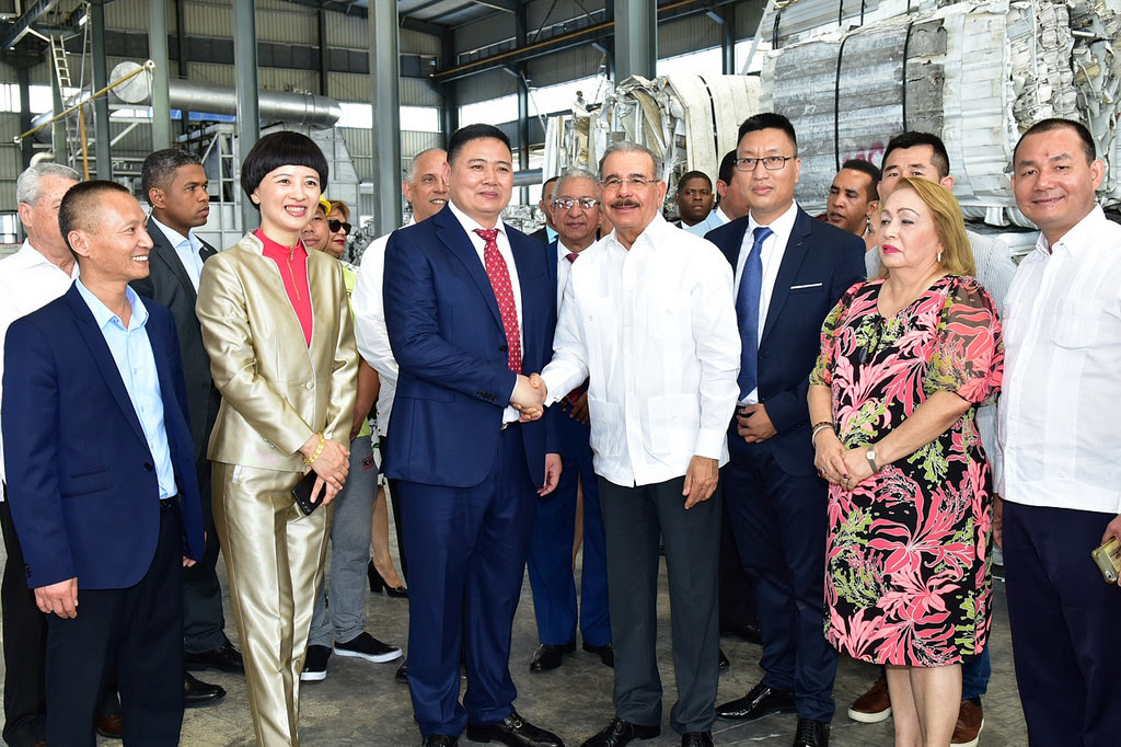 VIDEO: Danilo asiste a inauguración Kingtom Aluminio, primera empresa República Popular China en RD