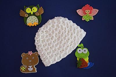 3 - Crochet Imagenes Gorrito a crochet para jersey y cambrita por Majovel Crochet