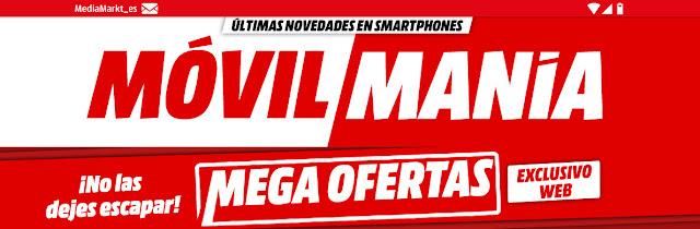 Top 5 Mega Ofertas y Móvil Manía de Media Markt