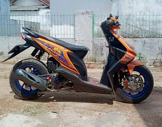 Modifikasi Honda Beat