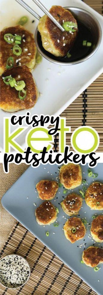 Gluten Free Potstickers | Low Carb, Keto-Friendly