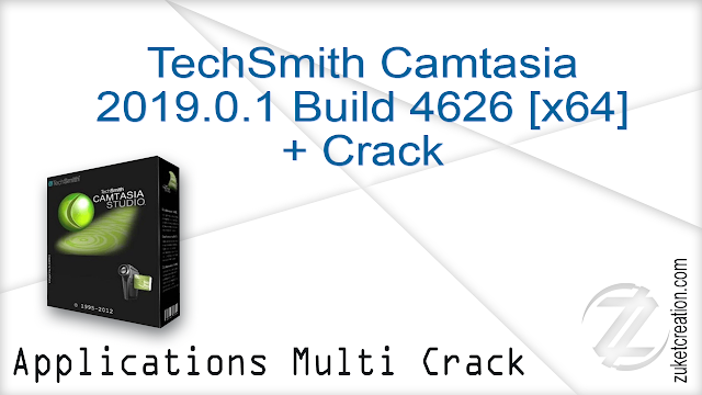 TechSmith Camtasia 2019.0.1 Build 4626 [x64] + Crack  |    484 MB