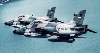 Pesawat Jet tempur TNI AU Indonesia