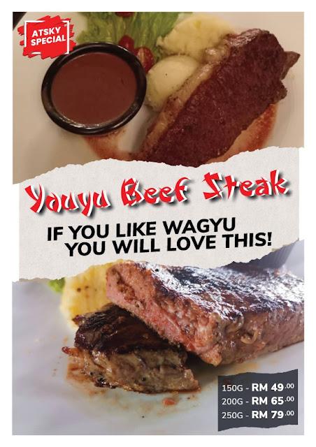ATSKY 'YOUYU' Beef Steak