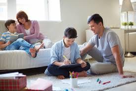 membimbing anak membiasakan hidup bersatu di rumah dan lingkungan sekitar www.simplenews.me