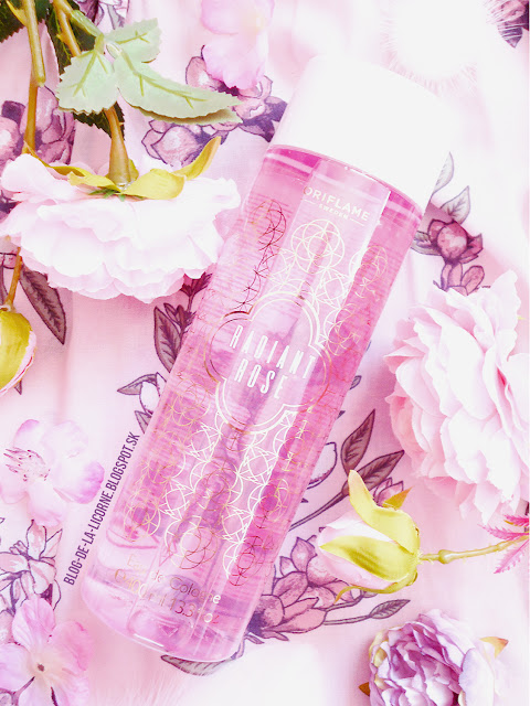Kolínska voda Radiant Rose Oriflame recenzia