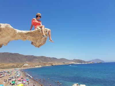 Ainhoa surveilling the beach