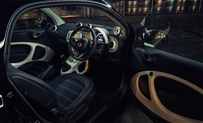 Smart ForTwo Mk3 front interior