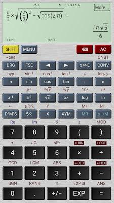 تحميل افضل تطبيق الة حاسبة علمية HiPER Calc Pro النسخة المدفوعة للاجهزة الاندرويد
