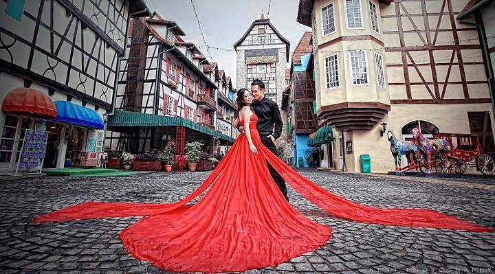 Weddings at Colmar Tropicale Berjaya Hills