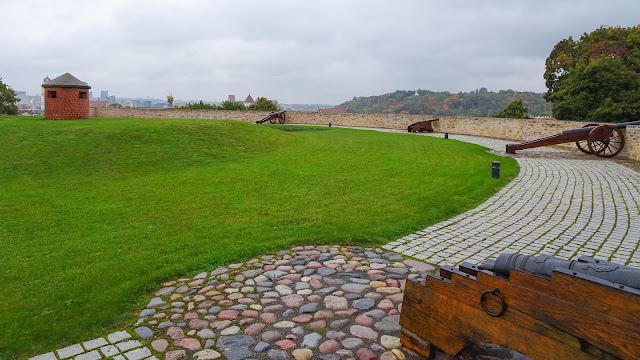 Cannons on Bastion of Vilnius