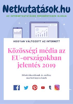 Közösségi média az EU-országokban jelentés 2019 - megrendelhető kiadvány