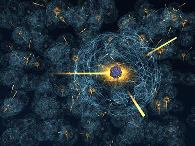 proton, elektron, nötron