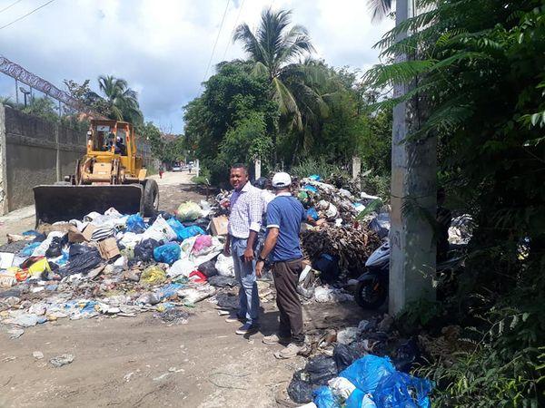 Alcaldía de Boca Chica continúa con la segunda etapa del  operativo Basura Cero