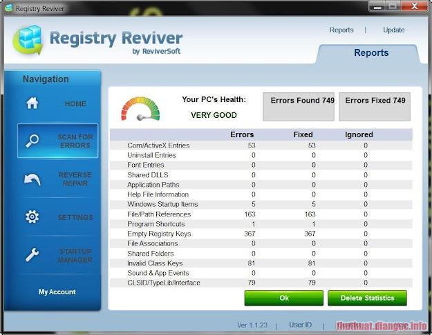 Download ReviverSoft Registry Reviver 4.21.1.2 Full Crack