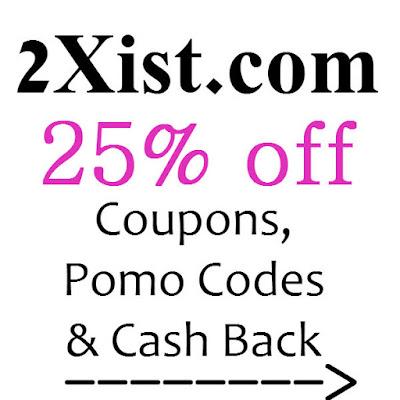 2Xist Promo Code January 2016, February 2016