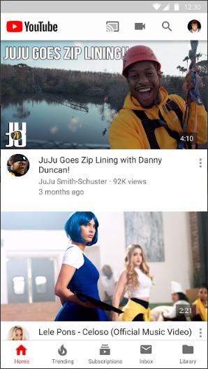 تحميل تطبيق يوتيوب YouTube