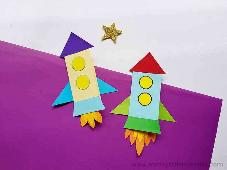rocket craft for kids