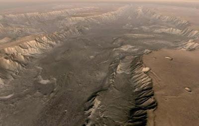 Sejak Miliaran Tahun Lalu Danau Purba di Mars Sudah Kering