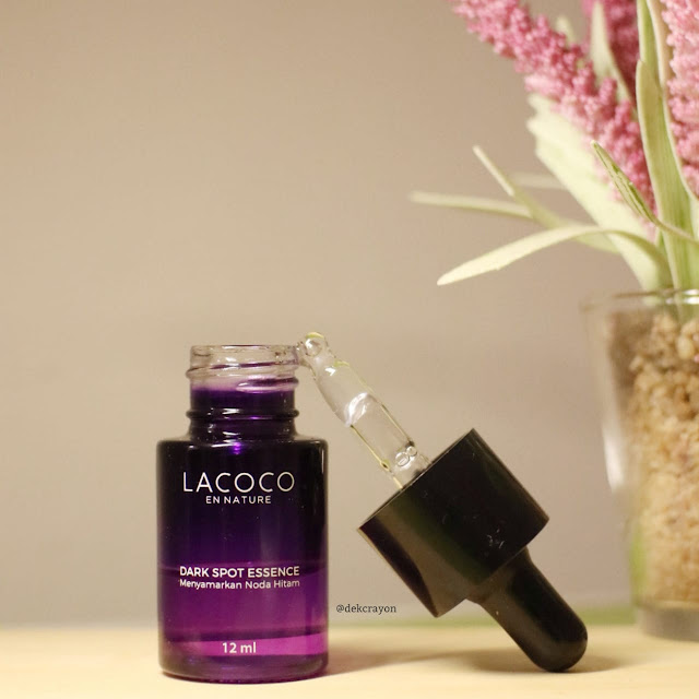 review lacoco dark spot essence menyamarkan flek hitam
