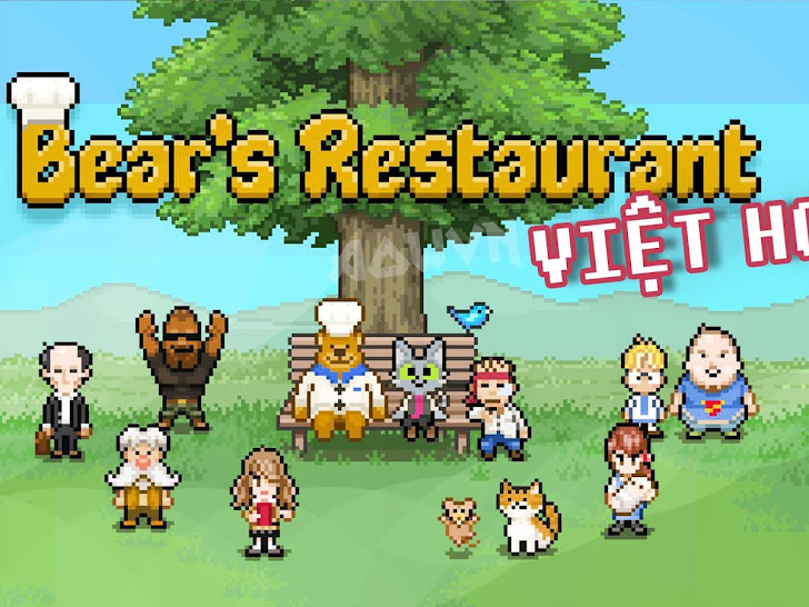 Nhà Hàng Của Gấu | Game Android Việt Hoá - Bear's restaurant