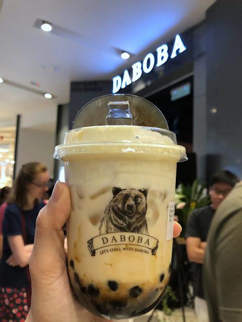 熊黑堂 Daboba Malaysia  - 火焰黑堂珍珠纯奶