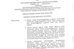 Fakultas Syariah IAIN Madura Resmi Buka Prodi Hukum Tata Negara