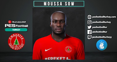 PES 2021 Faces Moussa Sow by PES Football Turkey