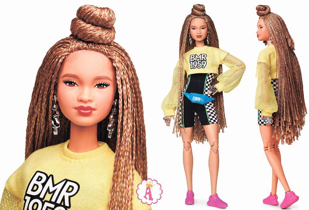 Кукла Барби Mbili с мелкими косичками BMR1959