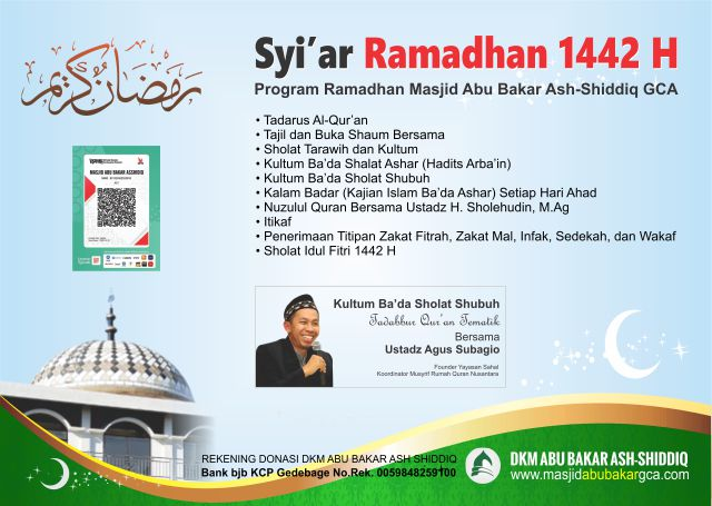 Program Ramadhan Masjid Abu Bakar Ash-Shiddiq