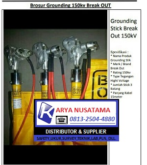 Brosur Break Out Ground 150kv di Karyanusatama