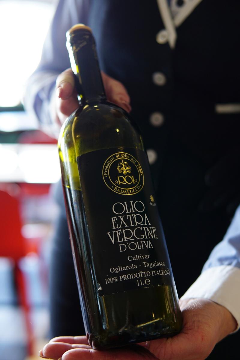 Silja Line, Tavolata, oliiviöljytasting