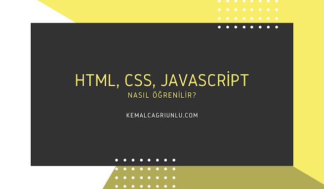 HTML ve CSS nasıl öğrenilir?