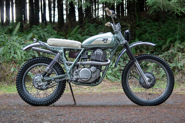 Yamaha XT500 By Red Clouds Collective Hell Kustom