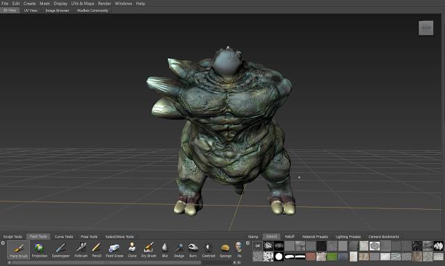 JEFF STUDIO 3D Mudbox Modelling