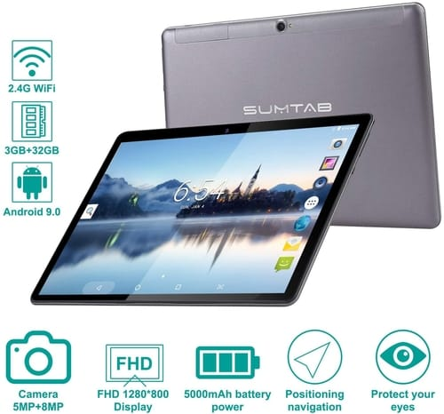 Review SUMTAB K101 plus Full HD 10 Inch Android Tablet