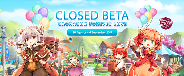 Review dan Cara Download Ragnarok Online Forever Love CBT Indonesia