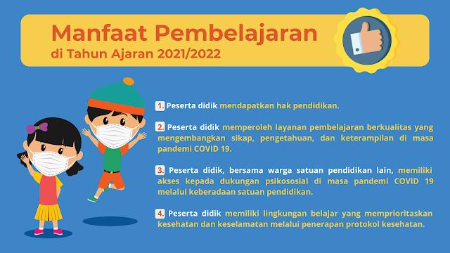 Manfaat Pembelajaran Tahun Ajaran 2021/2022