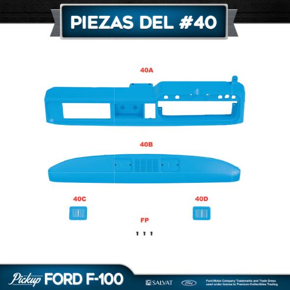 Entrega 40 Ford F-100