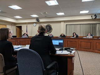 Goodman and Ahern presenting first view of FY 2019 budget